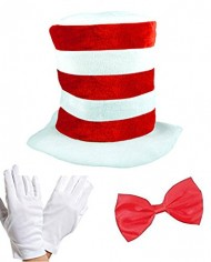 Adult-Cat-in-the-Hat-Bow-Tie-Gloves-Kit-Fancy-Dress-World-Book-Day-0