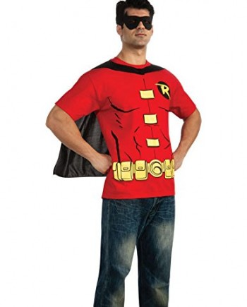 Adult-Robin-T-shirt-Fancy-Dress-Costume-With-Black-Cape-and-Eyemask-0