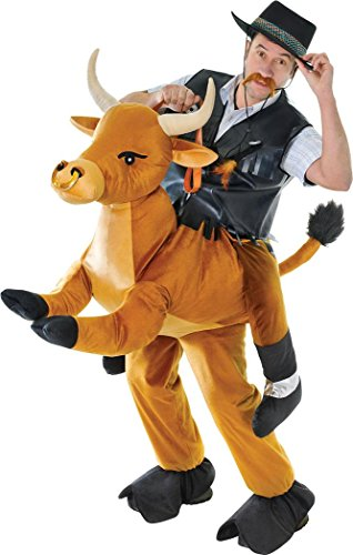 Adult-Stag-Night-Fancy-Party-Outfit-Cowboy-Ride-On-Animal-Step-In-Bull-Costume-0