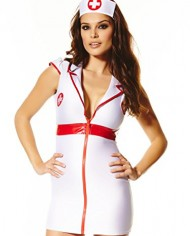 Ann-Summers-Bedside-Nurse-WhiteRed-Sexy-Open-Collar-Costume-Outfit-Fancy-Dress-0-1