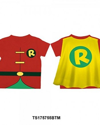 Batman-Robin-Costume-Caped-Toddler-T-Shirt-0