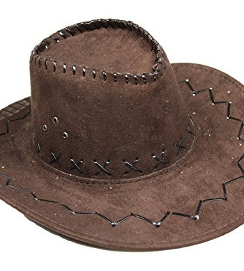 Brown-Western-Cowboy-Hat-Unisex-Costume-for-Children-Adult-Halloween-Party-0