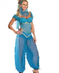 Burlesque-Box-Ladies-Belly-Dancer-Genie-Princess-Jasmine-Aladdin-Arabian-Nights-Adult-Fancy-Dress-Costume-0-0