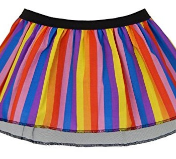 Childs-Size-Rainbow-Fancy-Dress-Pleated-Tutu-Skirt-0
