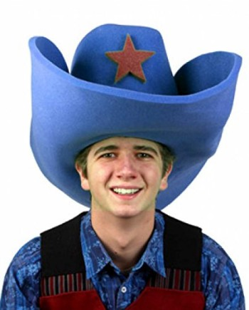 Clown-Antics-Super-Size-50-Gallon-Cowboy-Hats-Blue-28-0