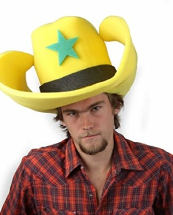 Clown-Antics-Super-Size-50-Gallon-Cowboy-Hats-Yellow-28-0