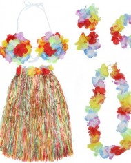 Colorful-Hawaiian-Tropical-Theme-Party-Hula-Luau-Grass-Dancer-Skirt-and-Bra-Set-0-3