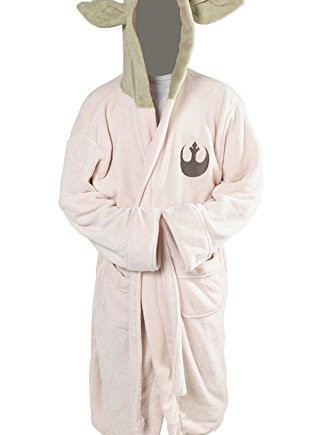 Daiendi-Star-Wars-Yoda-Jedi-Ears-Fleece-Bathrobe-Hooded-Robe-Costume-Adult-Size-0