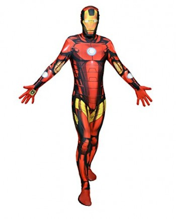 Halloween-Party-Digital-Morphsuit-Iron-MAN-costume-all-in-one-0