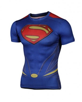 JNTworld-Mens-Superman-Logo-Crew-Neck-short-Sleeve-T-shirt-Superhero-0