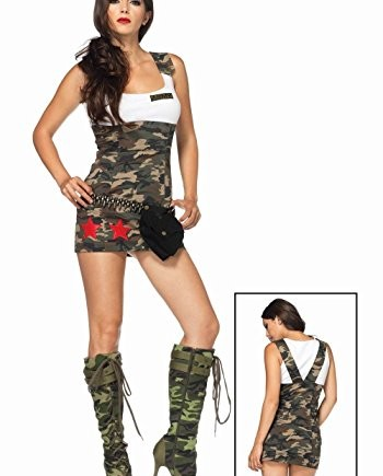 Koolee-Combat-Cutie-Ladies-Sexy-Army-Fancy-Dress-Costume-0