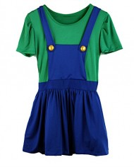 Mario-and-Luigi-Costumes-Adult-Womens-Super-Plumber-Bros-Halloween-Fancy-Dress-0-0