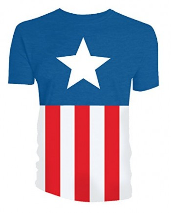 Marvel-Captain-America-Mens-Costume-T-Shirt-0