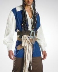 Official-Disney-MensTeen-Jack-Sparrow-Pirate-Costume-0-0