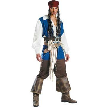 Official-Disney-MensTeen-Jack-Sparrow-Pirate-Costume-0