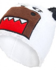 Old-Glory-Unisex-Adults-Domo-Panda-Bear-Fuzzy-Beanie-Cap-0