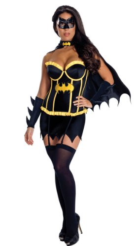 RedRibbonLingerie-Womens-Batgirl-costume-New-Adult-Fancy-Dress-Ladies-Sexy-Superhero-Outfit-0