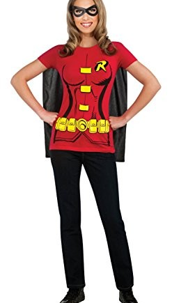 Robin-Male-T-Shirt-Adult-Costume-Kit-Size-Medium-0