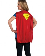 Rubies-Costume-Co-Womens-Dc-Co-Supergirl-Tshirt-With-Cape-0