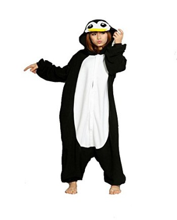 SAMGU-Super-Comfortable-Black-Penguin-Unisex-Plush-Animal-Pattern-Pajamas-Onesies-Suit-0