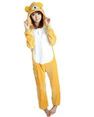 SAMGU-Unisex-Home-Adult-Onesie-Pajamas-Kigurumi-Cartoon-Character-Cosplay-Costume-Flannel-Fleece-Dress-0