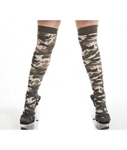 Sexy-Camouflage-Army-Girls-Costume-Accessories-Scarf-Socks-Vests-Head-bands-Skirt-Shrug-Hat-Bandana-Camouflage-OTK-Socks-0