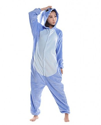 Trs-Chic-Mailanda-Unisex-Halloween-Cosplay-Costume-Pajamas-Fleece-Jumpsuit-Nightwear-0