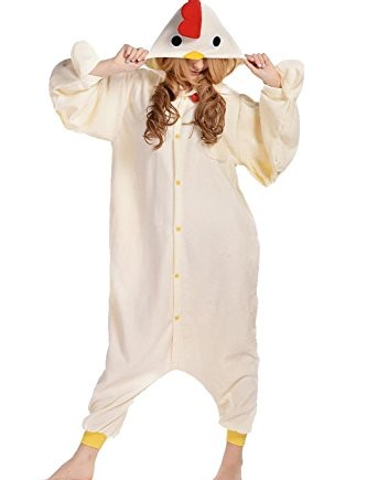 Wealth-Unisex-Animal-Chicken-Outwear-Party-Costume-Pajamas-0