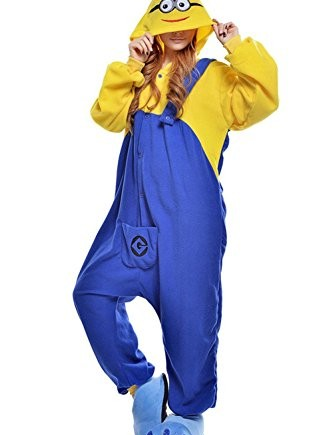 Wealth-Unisex-Minions-Sleep-Outfits-Christmas-Party-Costume-Pajamas-0