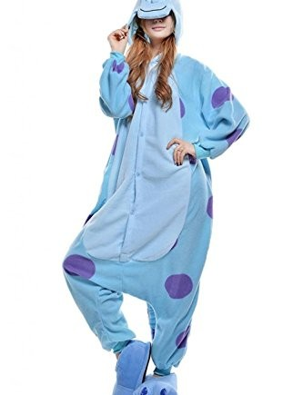 Wealth-Womens-Mens-Sullivan-Longhaired-Monster-Party-Costume-Pajamas-0