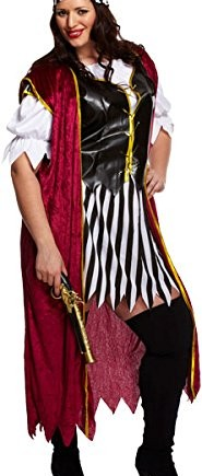 Womens-Ladies-Plus-Size-Swashbuckler-Adults-Outfit-Pirate-Costume-Fancy-Dress-0