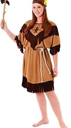 Womens-Native-Indian-Squaw-Fancy-Dress-Xmas-Party-Costume-Pocahontas-Outfit-0