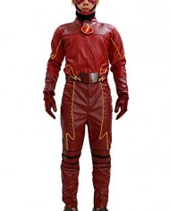 Xcoser-Cosplay-Costume-Superhero-Deluxe-Red-Leather-Jacket-Full-Suit-Outfit-Mask-Adults-Halloween-Fancy-Dress-Clothing-0-0