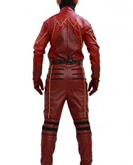 Xcoser-Cosplay-Costume-Superhero-Deluxe-Red-Leather-Jacket-Full-Suit-Outfit-Mask-Adults-Halloween-Fancy-Dress-Clothing-0-1