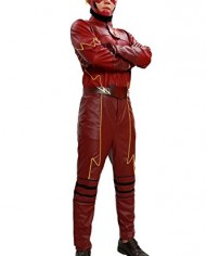 Xcoser-Cosplay-Costume-Superhero-Deluxe-Red-Leather-Jacket-Full-Suit-Outfit-Mask-Adults-Halloween-Fancy-Dress-Clothing-0