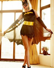 koolee-Sexy-Batgirl-Superhero-Fancy-Dress-Costume-0-0